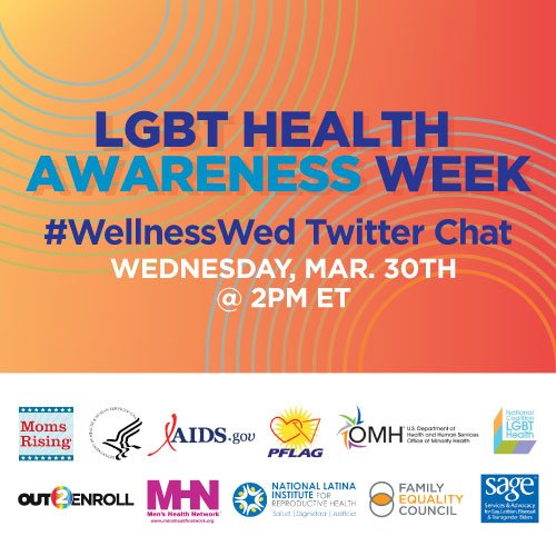 Thumbnail for #LGBTHealth Twitter Chat #WellnessWed