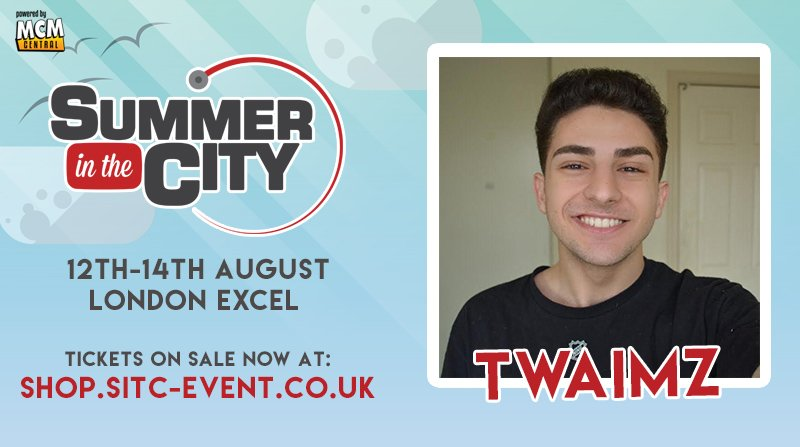 We are thrilled to welcome @twaimz to Summer in the City for the first time! #SitC2016 https://t.co/0iyNdbJqHI https://t.co/rGwpOFYj6V