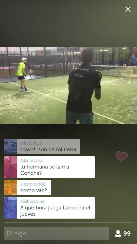 .@WorldPadelTour en #Periscope: Benzal-Silveira Vs Rubio-Ruiz fase previa Gijón Open https://t.co/AmKJBQpuTd https://t.co/w7wS9bIslP