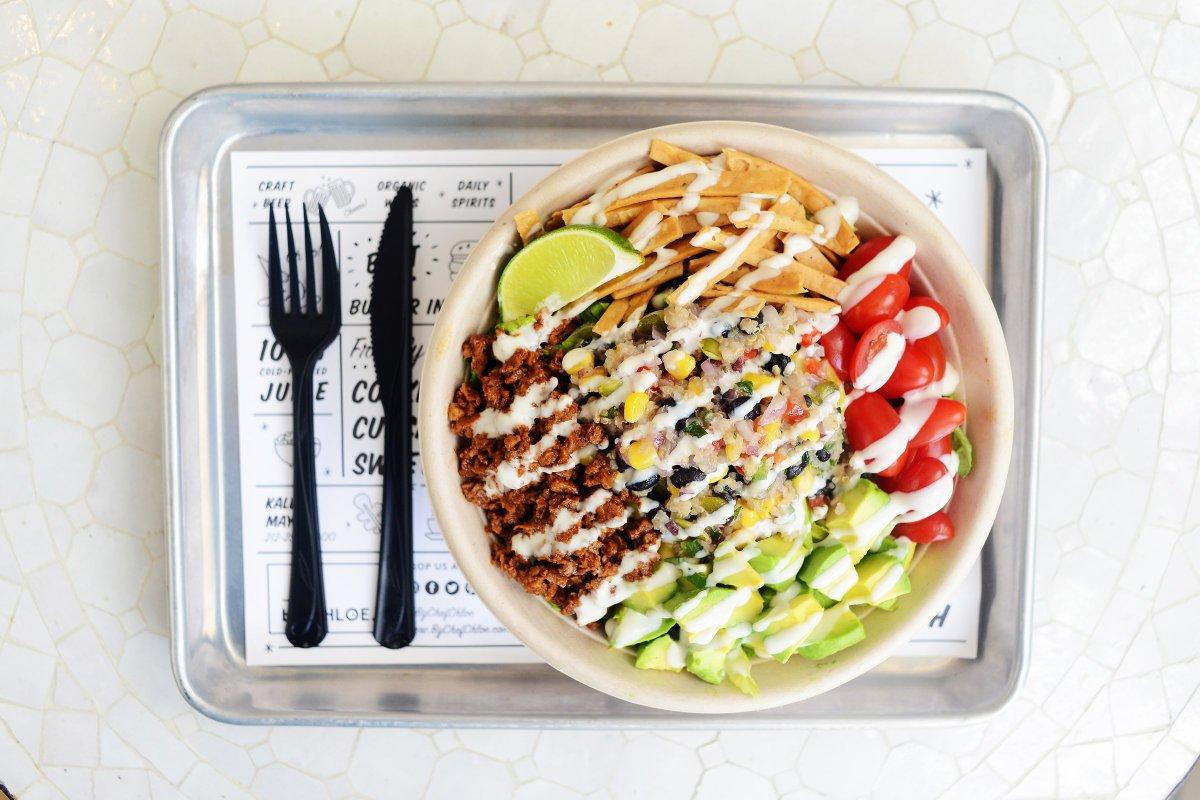 By Chloe Quinoa Taco Salad Recipe