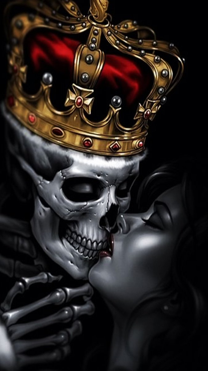 HD Phone Wallpapers On Twitter Skull King Tco AZ8ZFMbabq