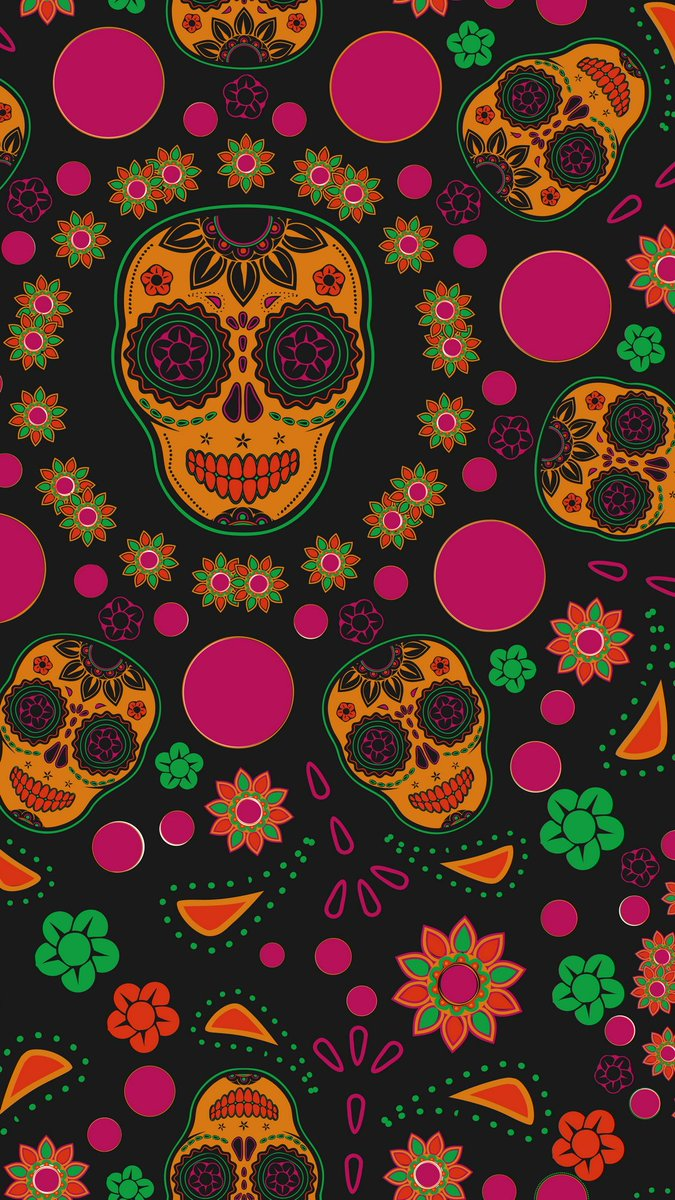 Hd Phone Wallpapers On Twitter Day Of The Dead Dia De Los