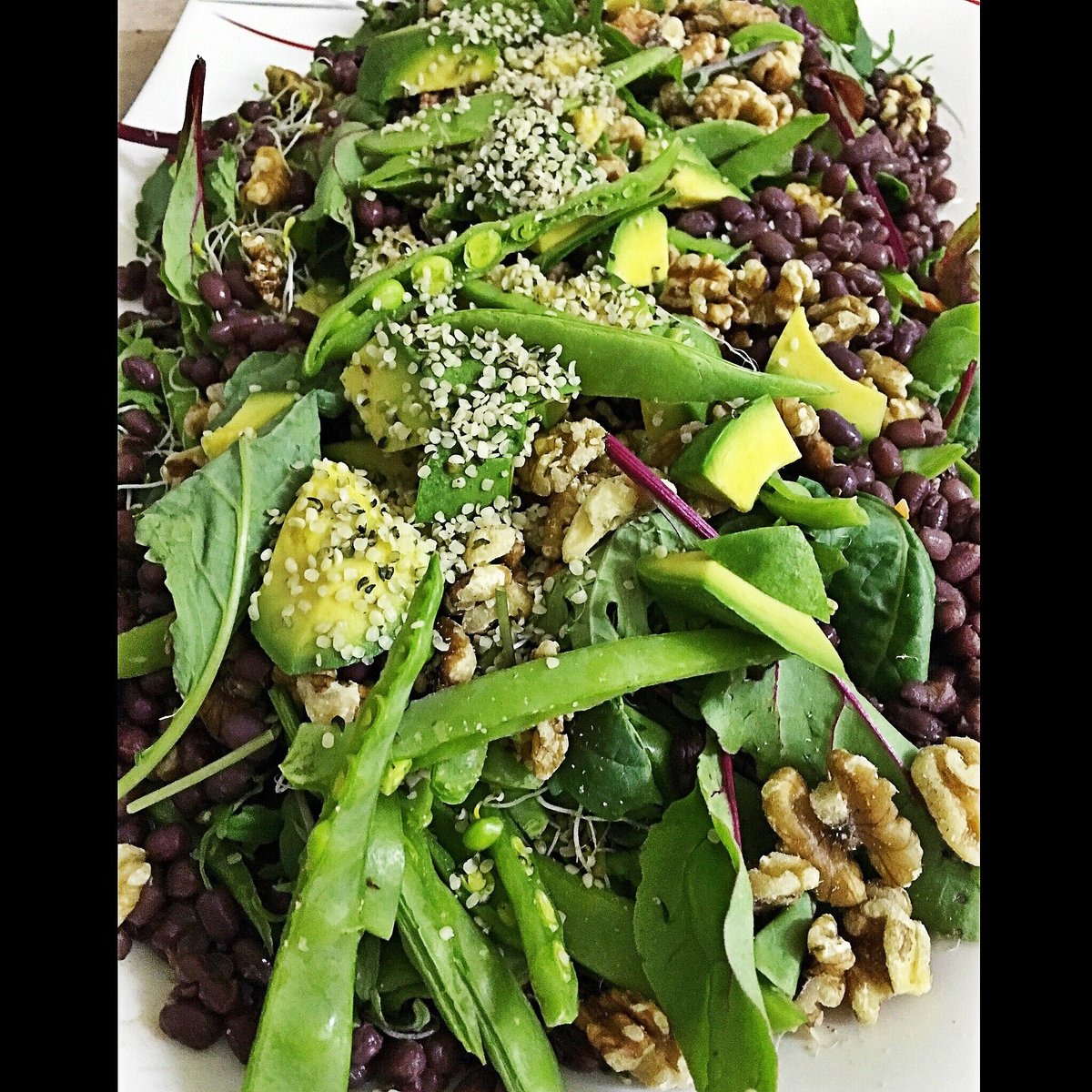 My Asian High Protein #vegan miso salad. So #delicious https://t.co/xQrJaqMyAB