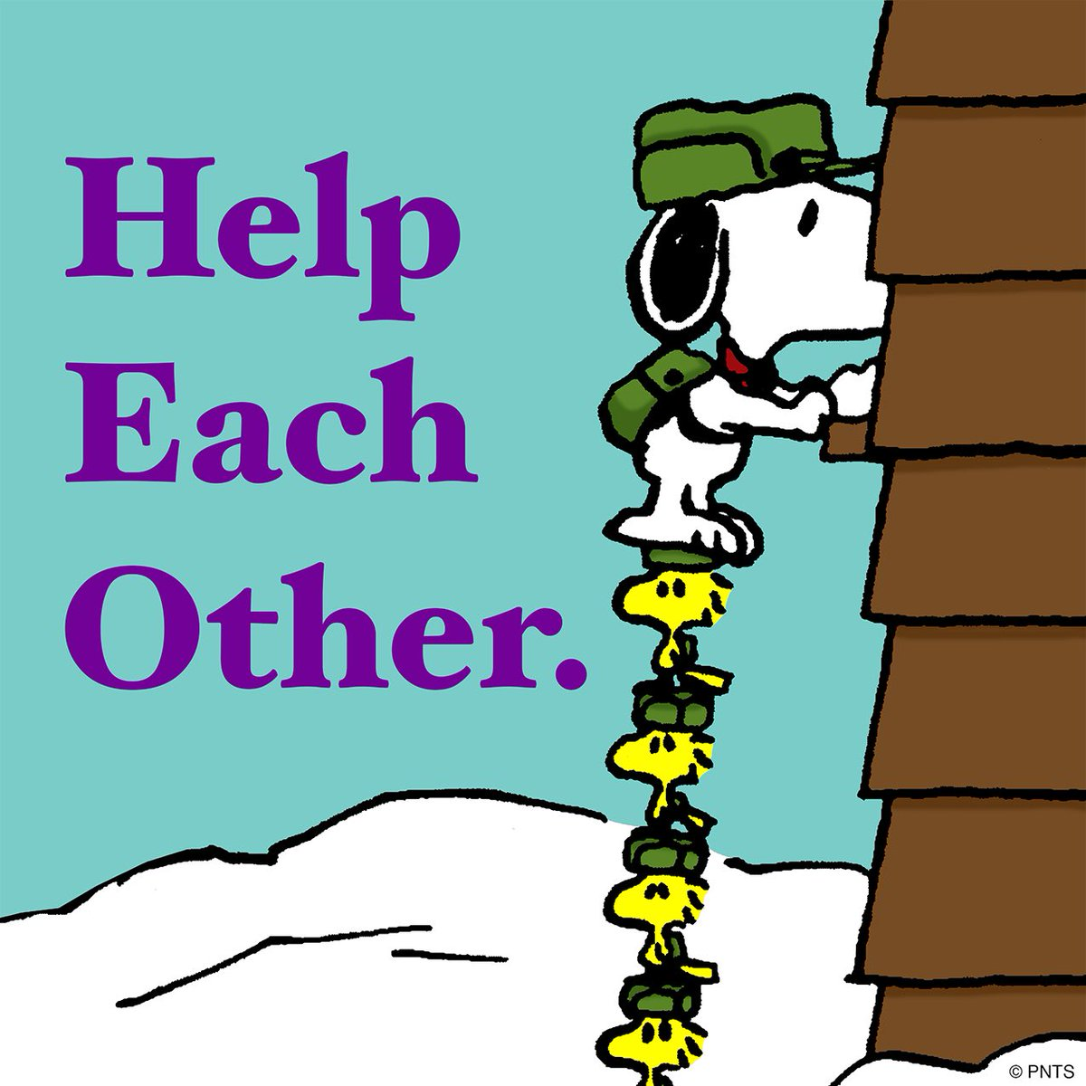 "Helping Each Other: PEANUTS On Twitter: ""Help Each Other. Https://t.co/u5G2wnjmnE"""
