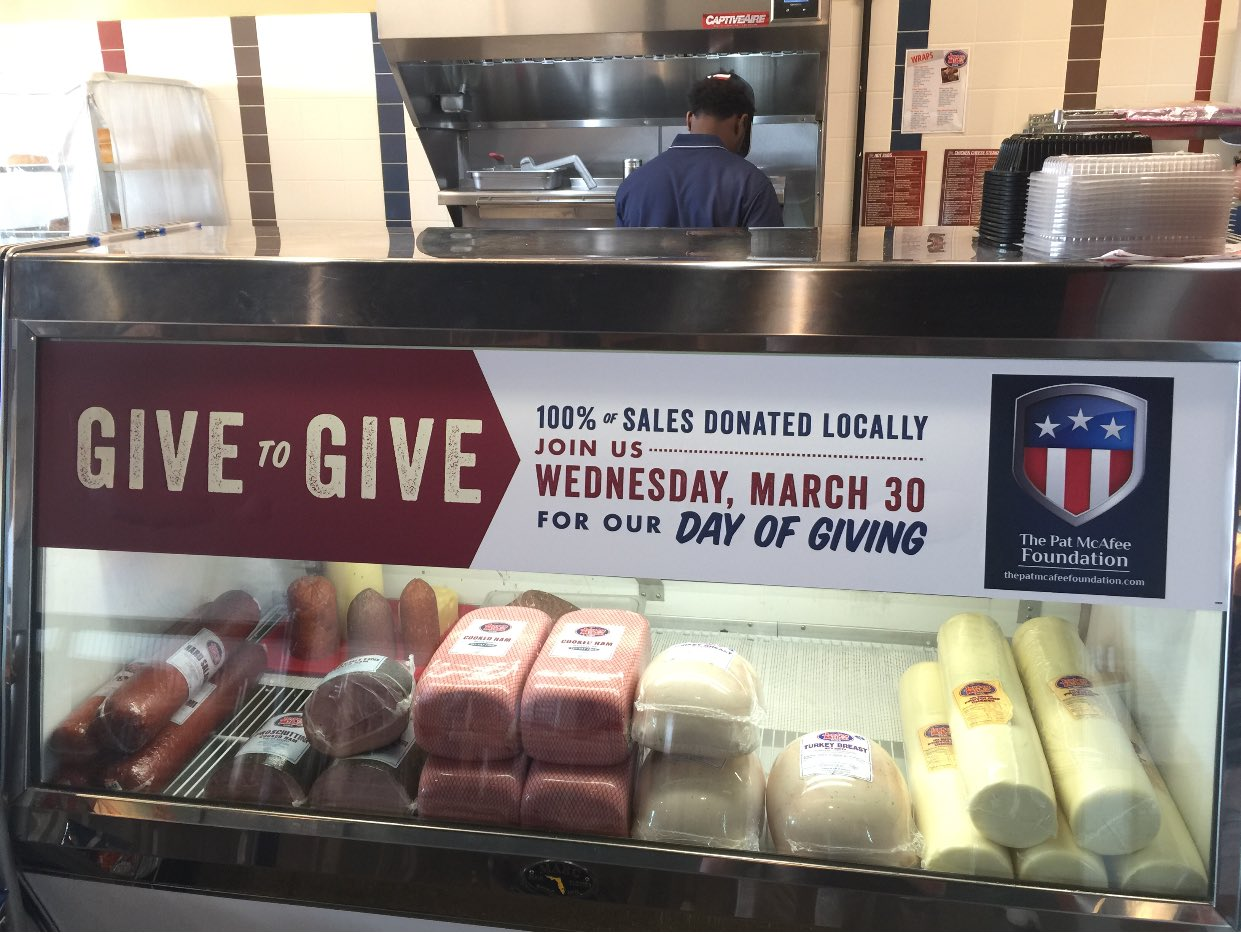 134a77771 ... coupon code for pat mcafee on twitter thank you very much jerseymikes  100 of sales tomorrow