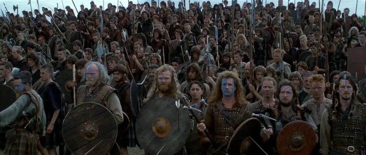 CLASH OF THE TARTANS: Retweet by 8pm to win tix to BRAVEHEART mock @drafthouse. 3 winners: https://t.co/Euf5l7p4zF https://t.co/8S7H2BRphz