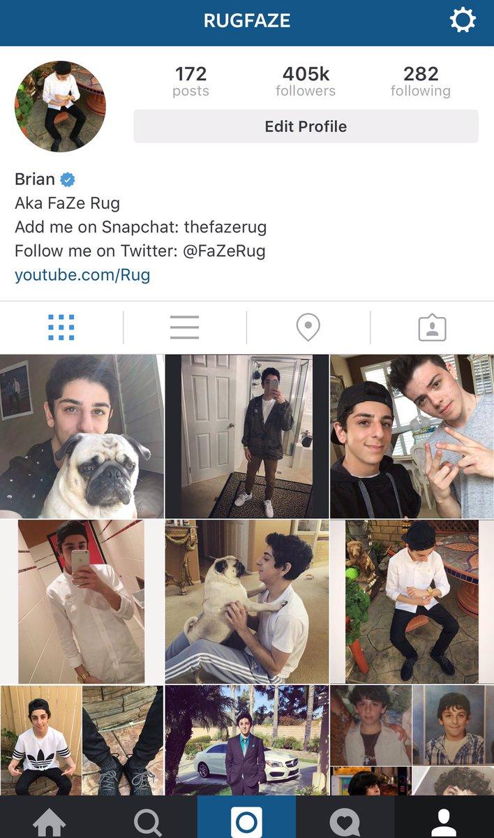 Rug On Twitter I Just Got Verified Instagram Https T Co Sjontoyciq