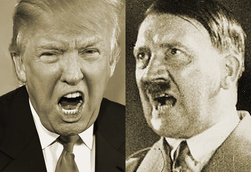 As a Jew I see the same rhetoric as a young 1920's Adolf. Don't let his ego & PR machine fool you! #GOPTownHall https://t.co/PX2G0j1LPI