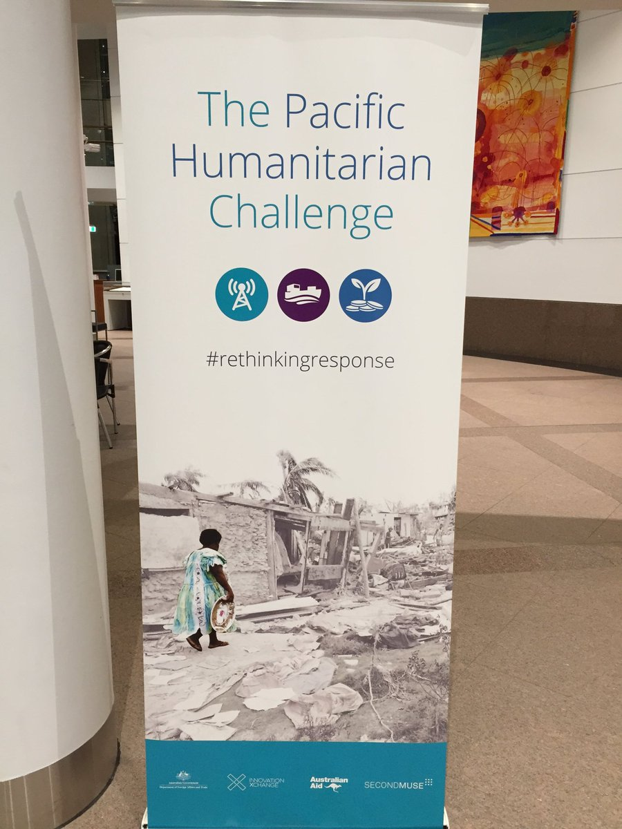 Attending today the design sprint for the Pacific Humanitarian Challenge in Canberra #rethinkingresponse @wfp https://t.co/zRAyTuujIE