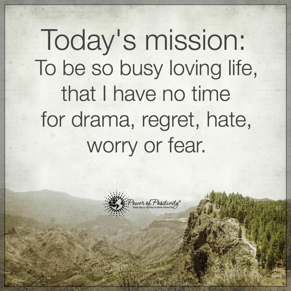 """Power Of Positivity Images And Quotes: Power Of Positivity® On Twitter: """"Today's Mission: To Be"""