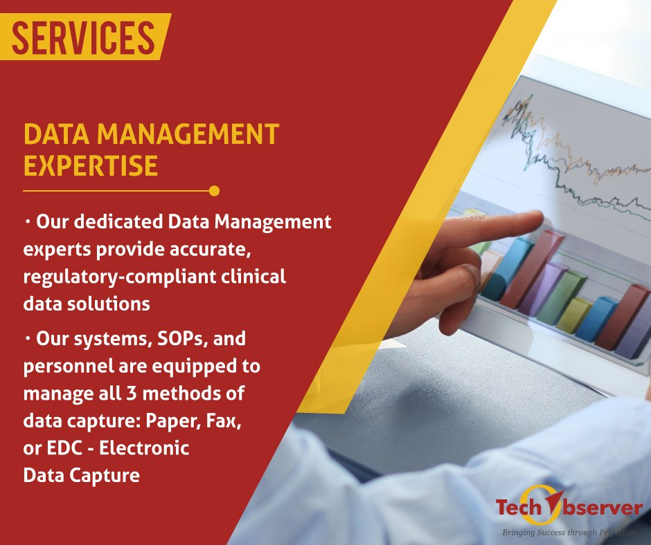 test Twitter Media - Our systems, SOPs, and personnel are equipped to manage all 3 methods of data capture, Fax, Paper & EDC https://t.co/9oXA2Vysvr