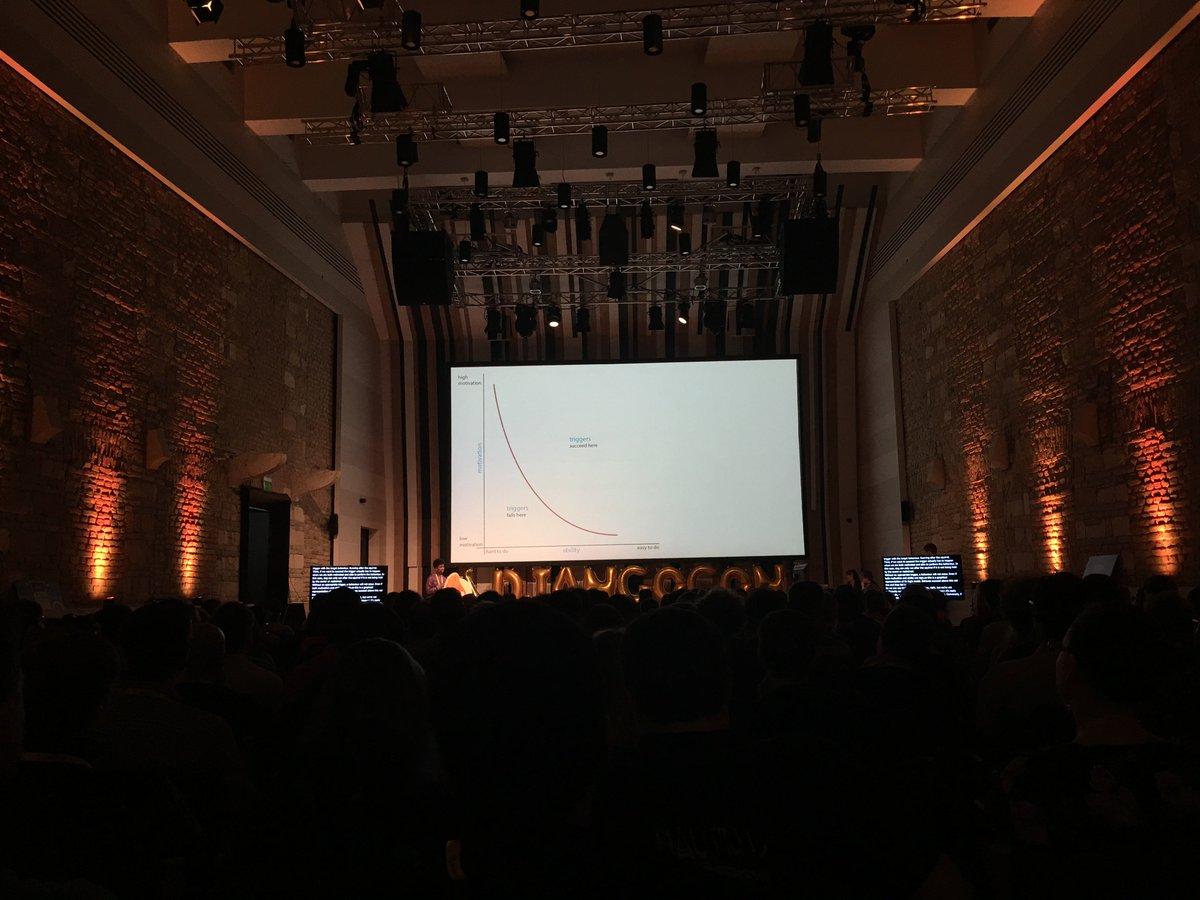 Amazing keynote by @itsmisscs about motivation, behaviors, community building. 🎷 #DjangoCon https://t.co/IrttpzpnbI