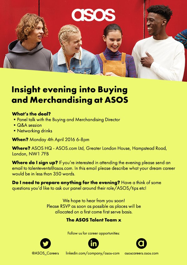 Interested in a career in Buying & Merchandising?Over the age of 18? Check out the below and email your CV & app! https://t.co/HqppJKuWua