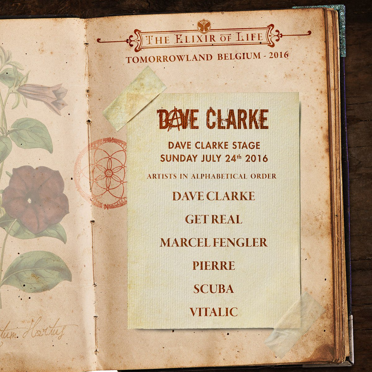 Back at @tomorrowland  Sunday 24th of July https://t.co/tFlCzf6EUh