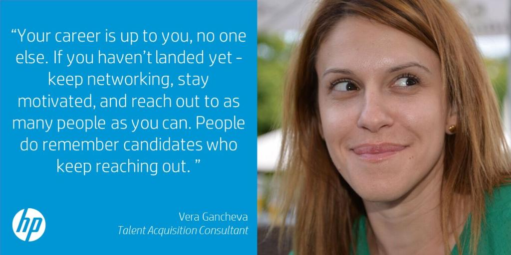 hp careers on twitter interesting view from our talent acquisition consultant vera gancheva proactivity is the key - Talent Acquisition Consultant