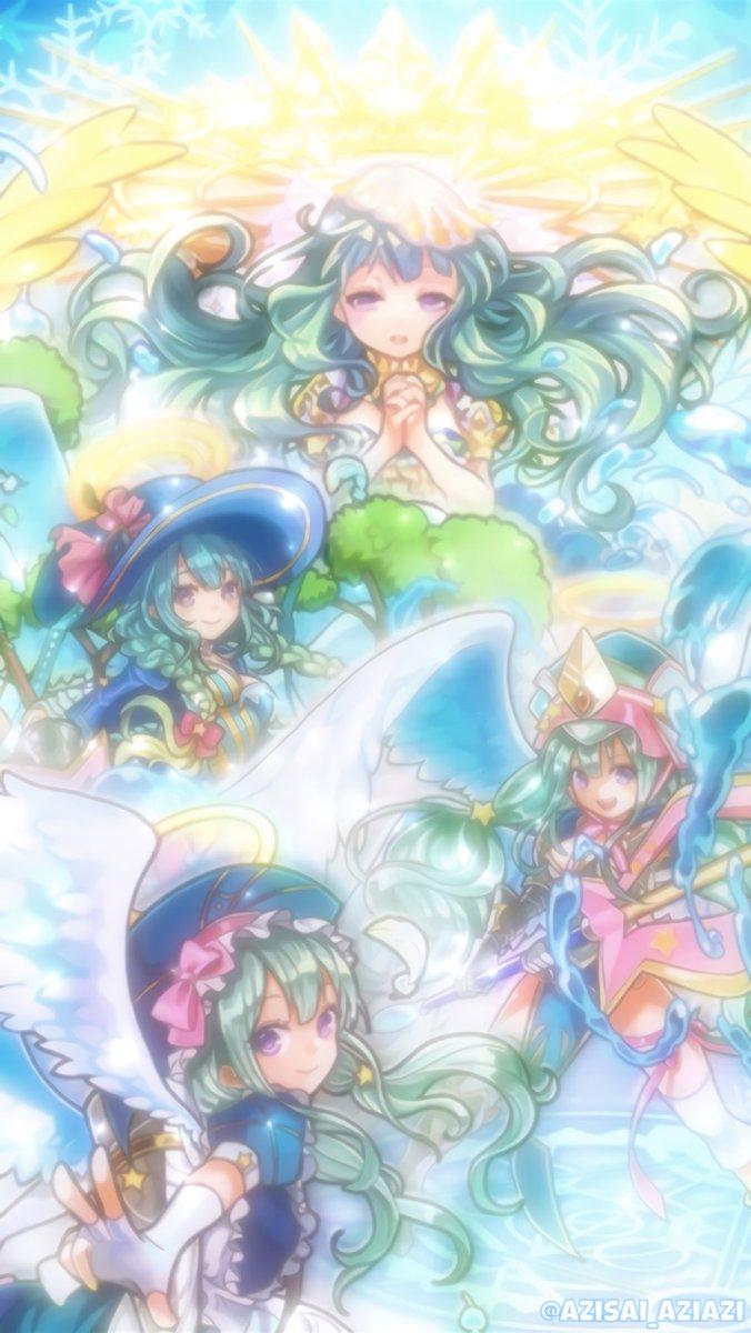 紫陽花 Azisai Aziazi 天使な壁紙 ラファエル集合