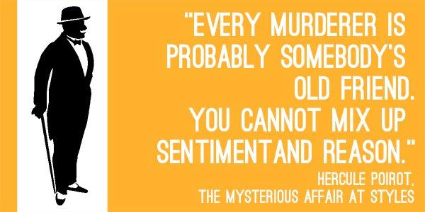 Resultado de imagen para the mysterious affair at styles quote