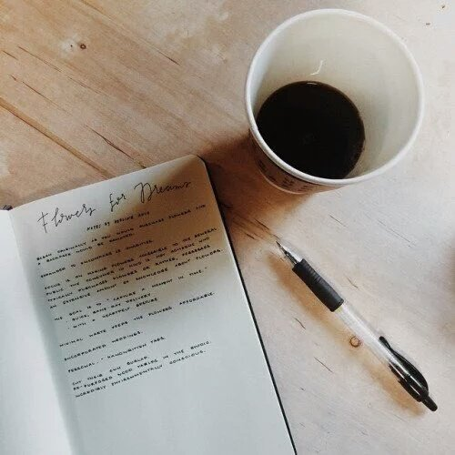 Image result for pen and paper aesthetic