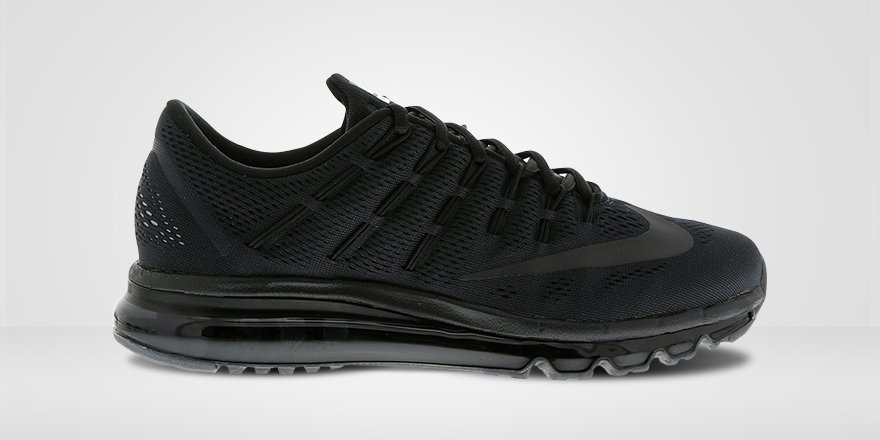 nike air max 2016 triple black
