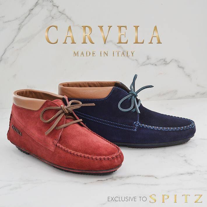Carvela Suede Bootie Moccasins. In all Spitz stores now! https://t.co