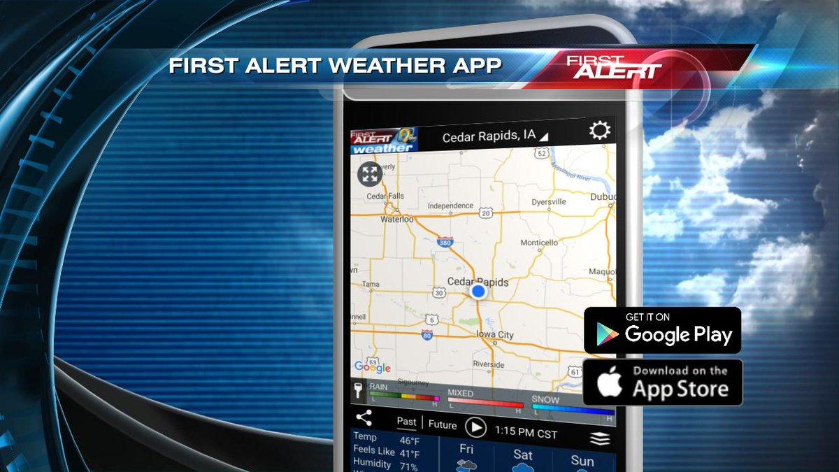 KCRG-TV9 First Alert Weather on Twitter: