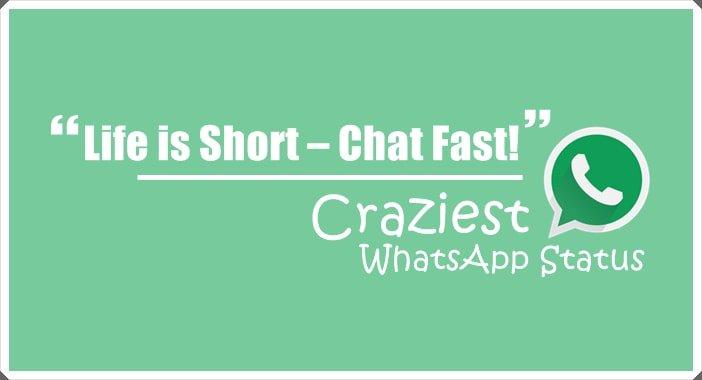 Hindustanews On Twitter Crazy Status For Whatsapp Status