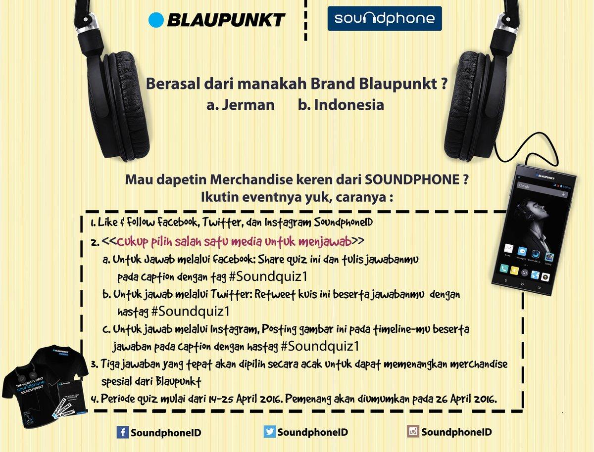 Blaupunkt Soundphone Soundphoneid Twitter Profile Twipu S2 Mau Merchandise Exclusive Dari Mudah Banget Sob Ikutin Caranya