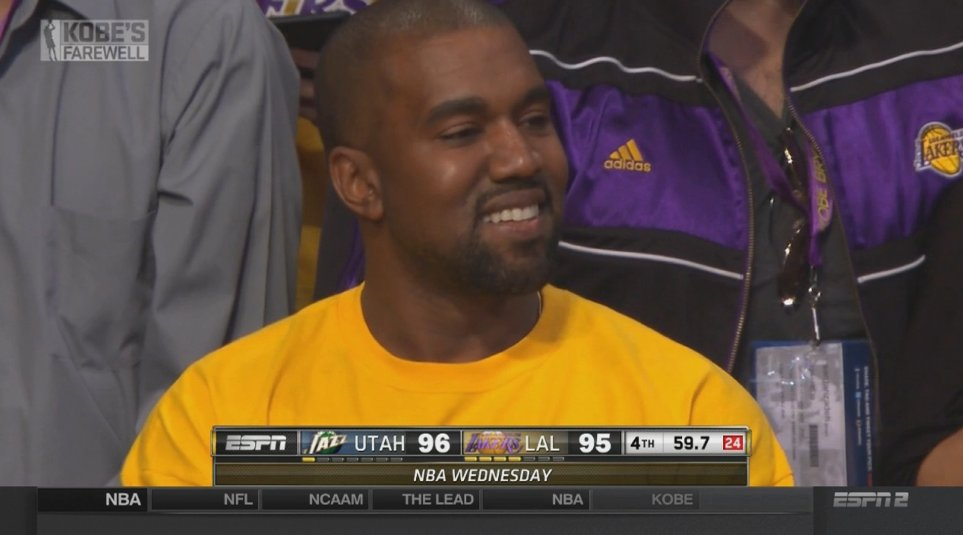 KOBE EVEN HAS KANYE SMILING WTF IS GOING ON https://t.co/tNrjqtDfbZ