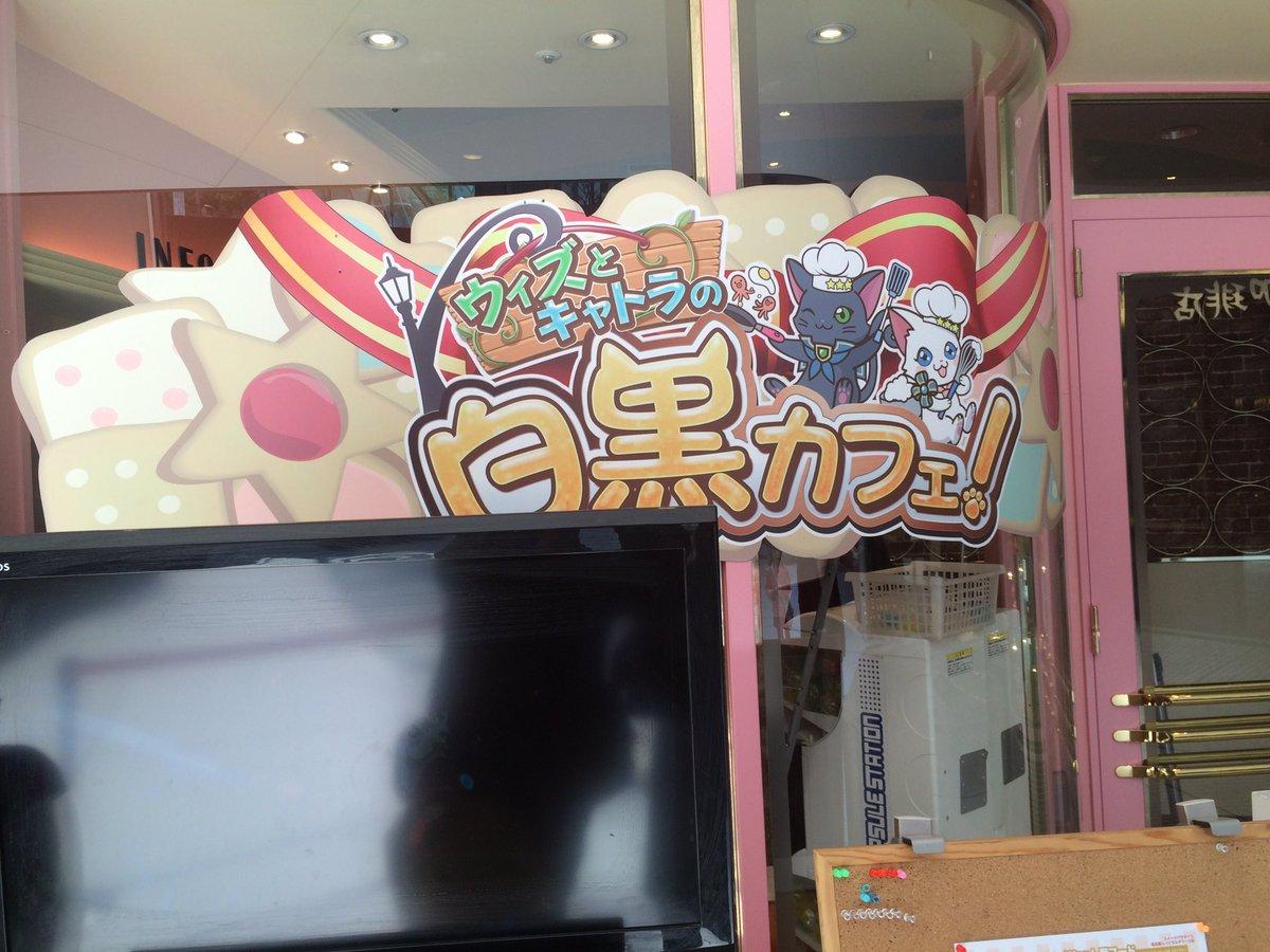 【白猫】ウィズとキャトラの白黒カフェ!in名古屋が本日より開催!早速行ってみた報告、フランお手製の限定メニューも!【プロジェクト】