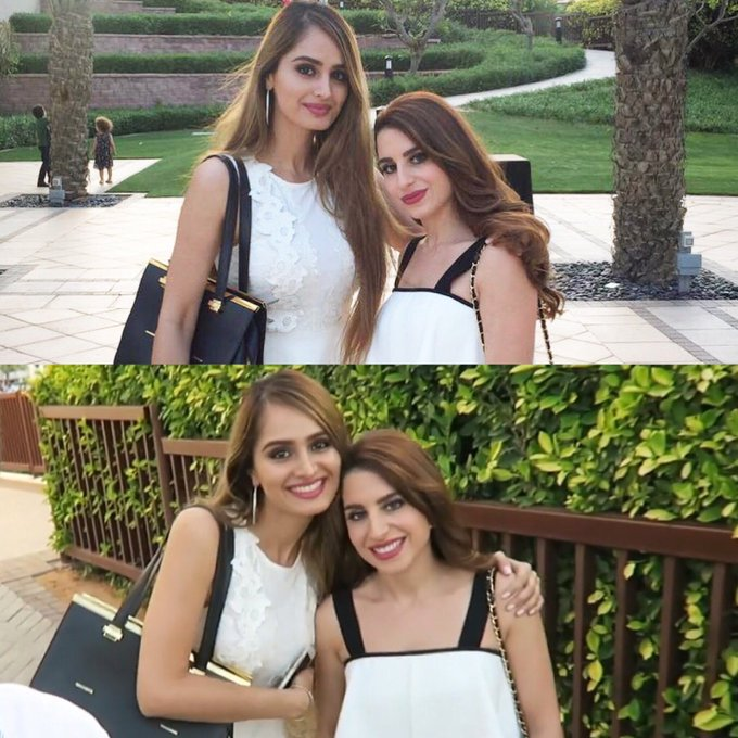 Foto på Lana Rose  & hennes vän Natalia Tani