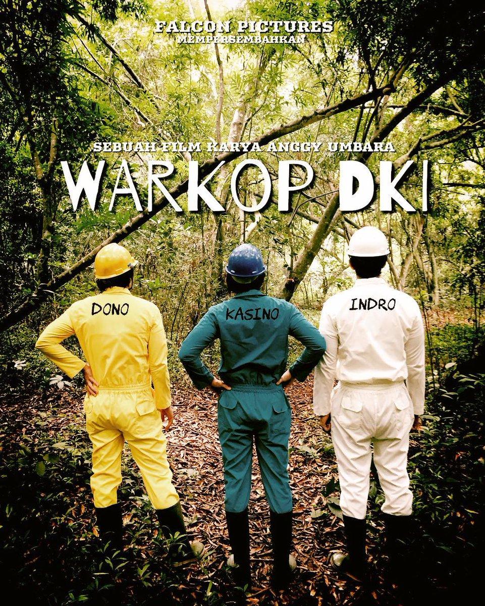 Warkop DKI: Jangkrik Bos! (2016) | Vino G. Bastian, Abimana Aryasatya, Tora Sudiro