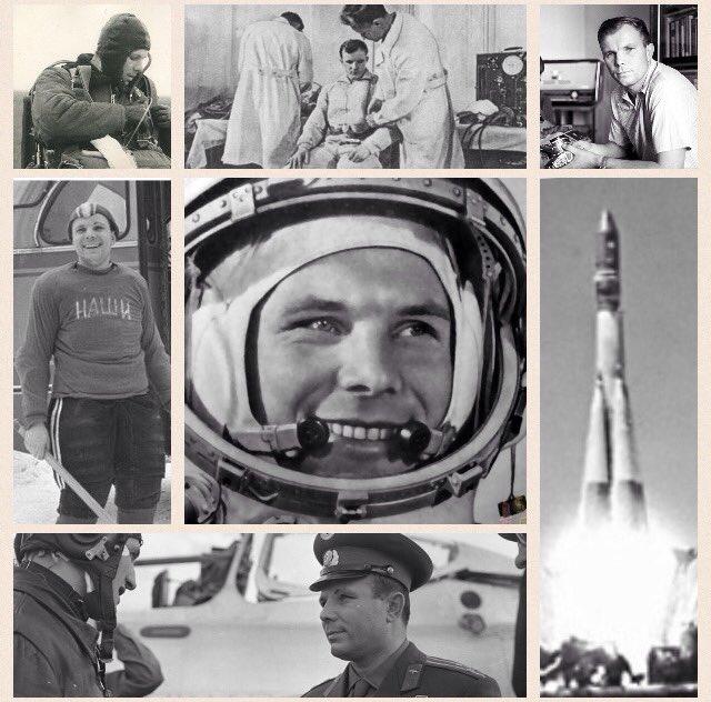 Foto storiche di Jurij Gagarin