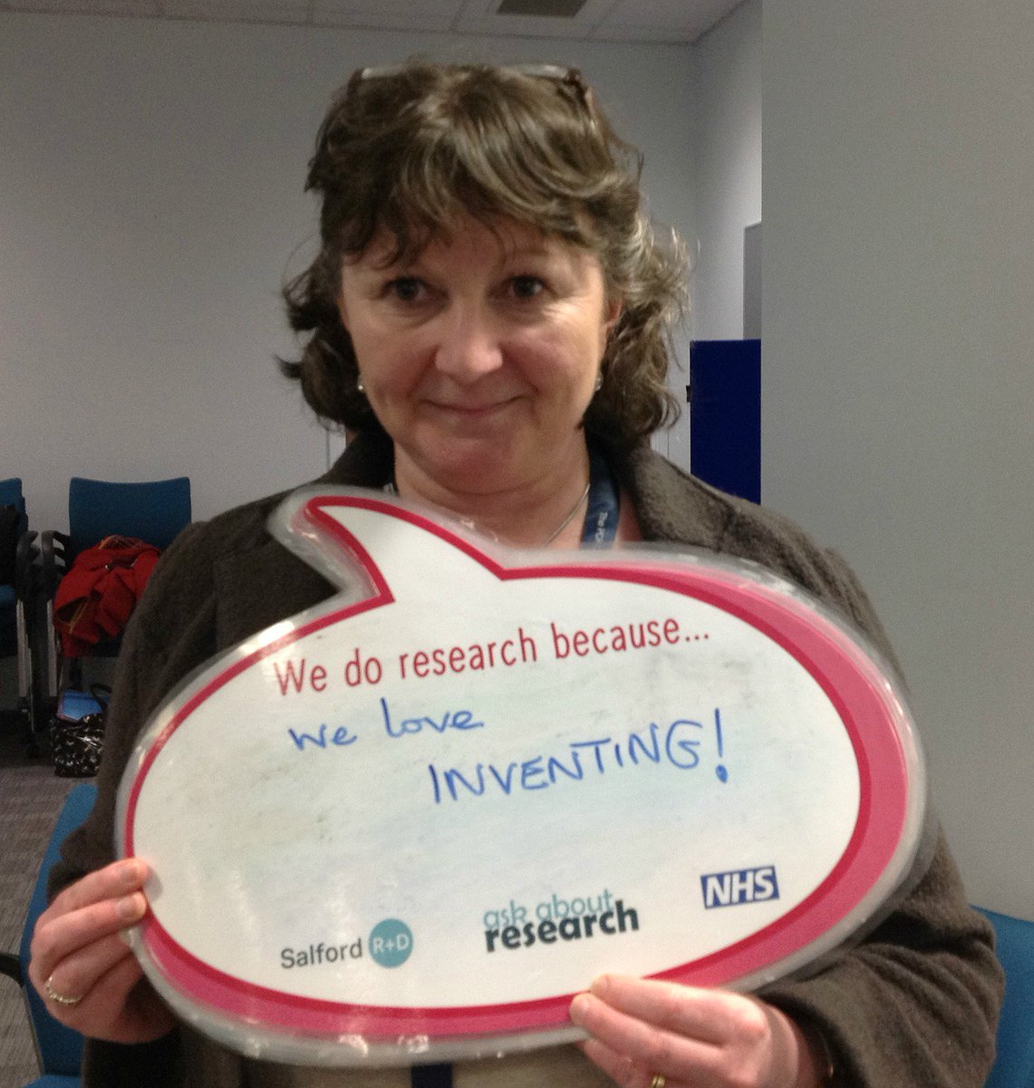 Great to meet Prof Tracy Hussell @MccirUoM at #artinresearch event yesterday #whywedoresearch https://t.co/8ETQRWAMfd