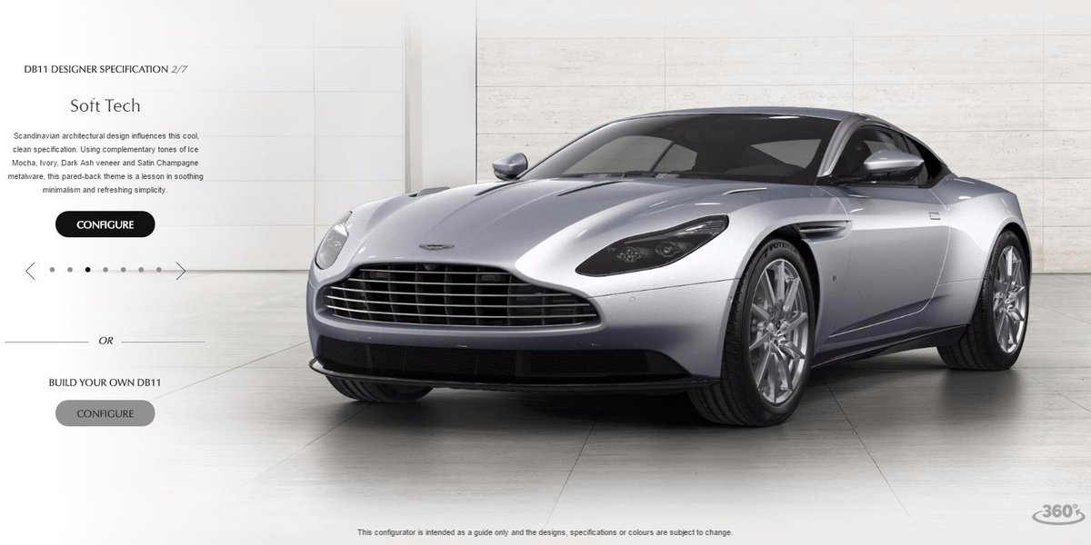 Aston Martin On Twitter Build Your Own Configuration Or Choose One - Build your own aston martin