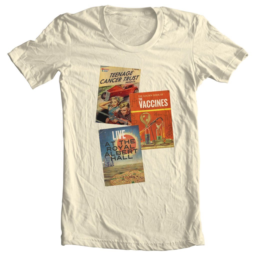 Retweet to win! One of only 100 T shirts for our Teenage Cancer Trust Royal Albert Hall show. Winner Saturday 6pm https://t.co/IoAJqX80nf