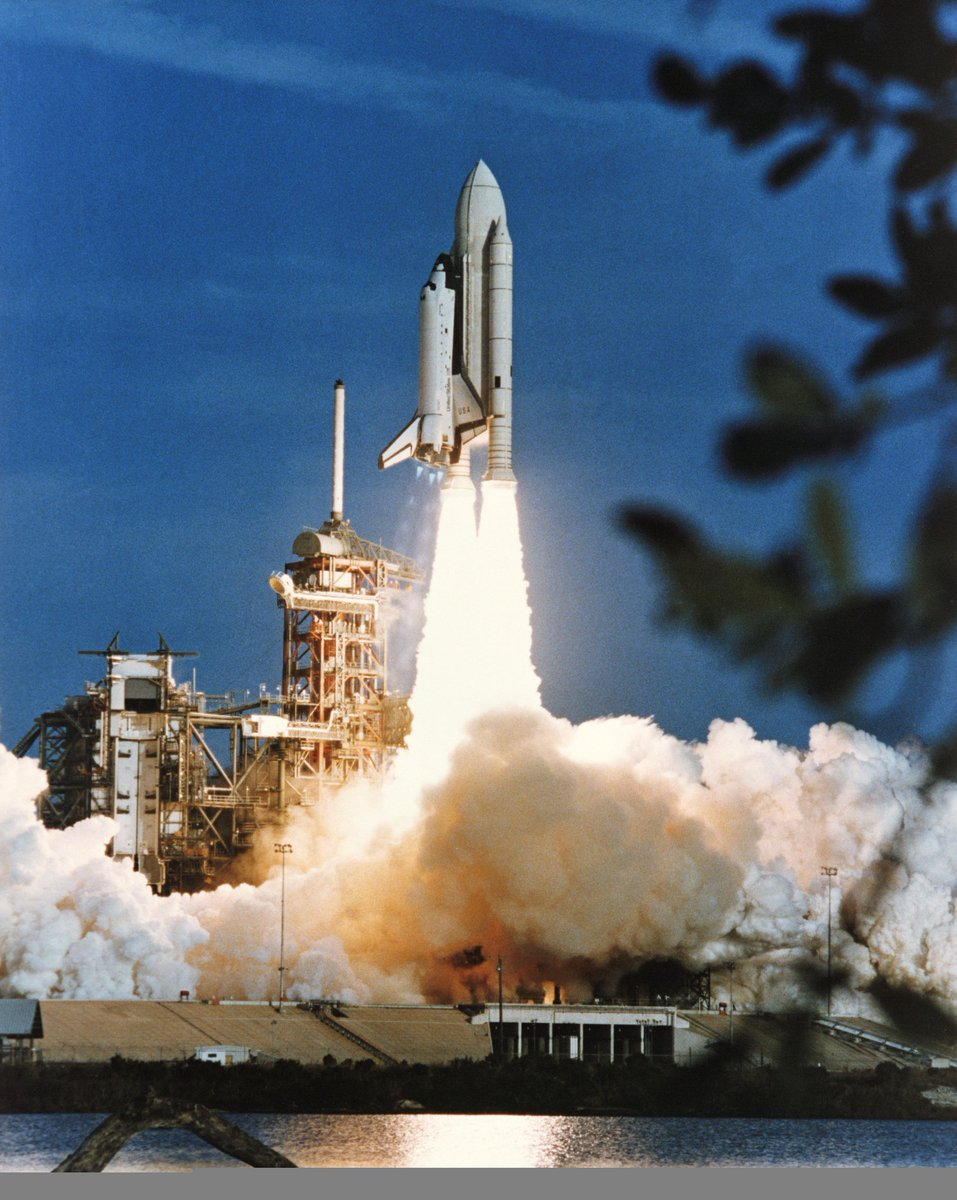 Today in 1981 the #SpaceShuttle era began with the launch of #Columbia on #STS1 https://t.co/FbpkLDJ5uA