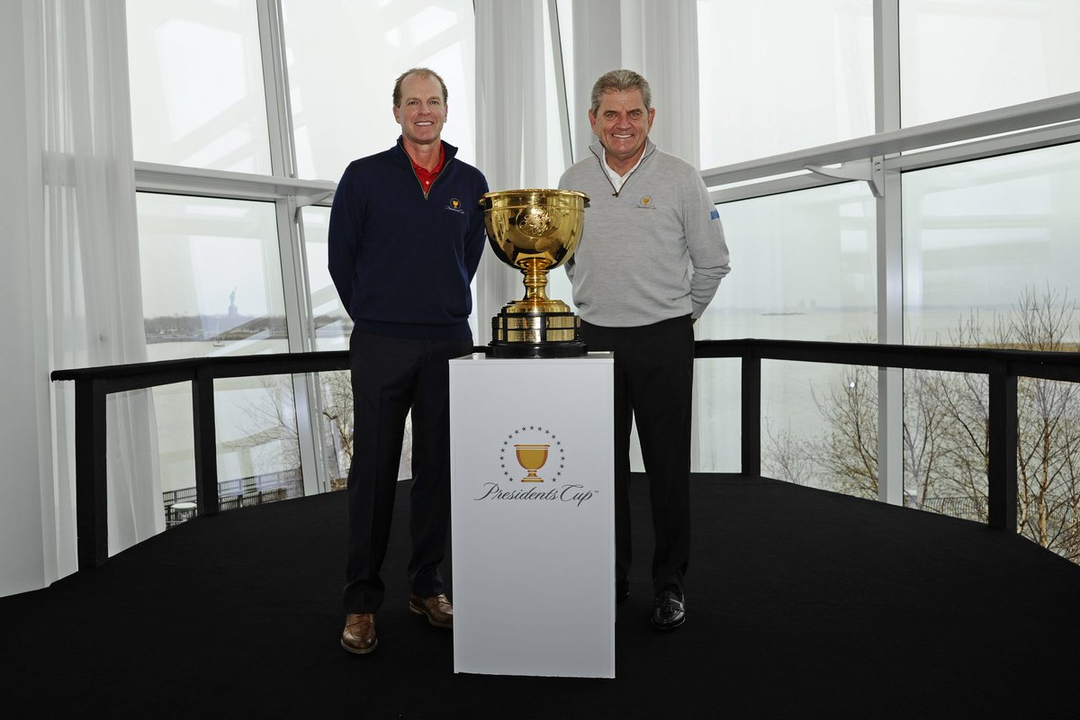We're excited to introduce our 2017 #PresidentsCup Captains, Steve Stricker for #TeamUSA & Nick Price for #TeamIntl! https://t.co/T1kxehHay0