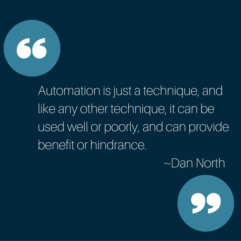 We automate both too much and too little -@tastapod https://t.co/pXcLBWQtk7 #testautomation https://t.co/HU2Xicpjq9