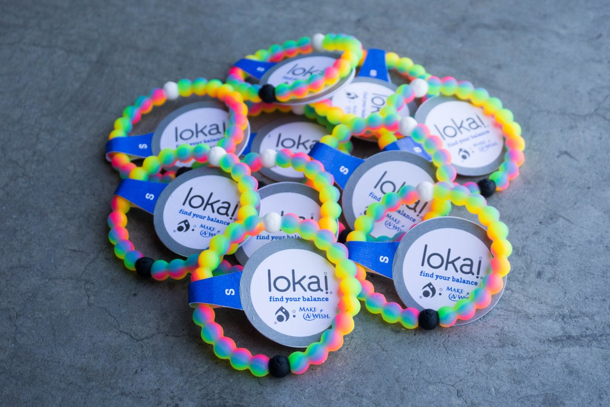 Bait On Twitter Lokai Neon Bracelet Limited Edition Make A Wish Foundation Is At Https T Co Um7pfxssn8 In Sz S Xl For 18 64xflcpumf