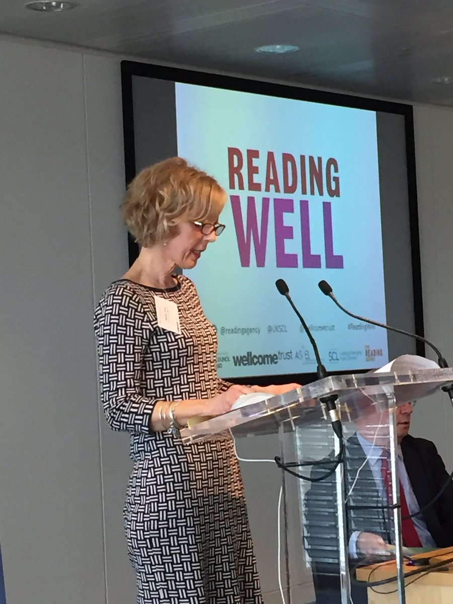 Changing people lives by reading. #ReadingWell https://t.co/MtBHRJG6ET