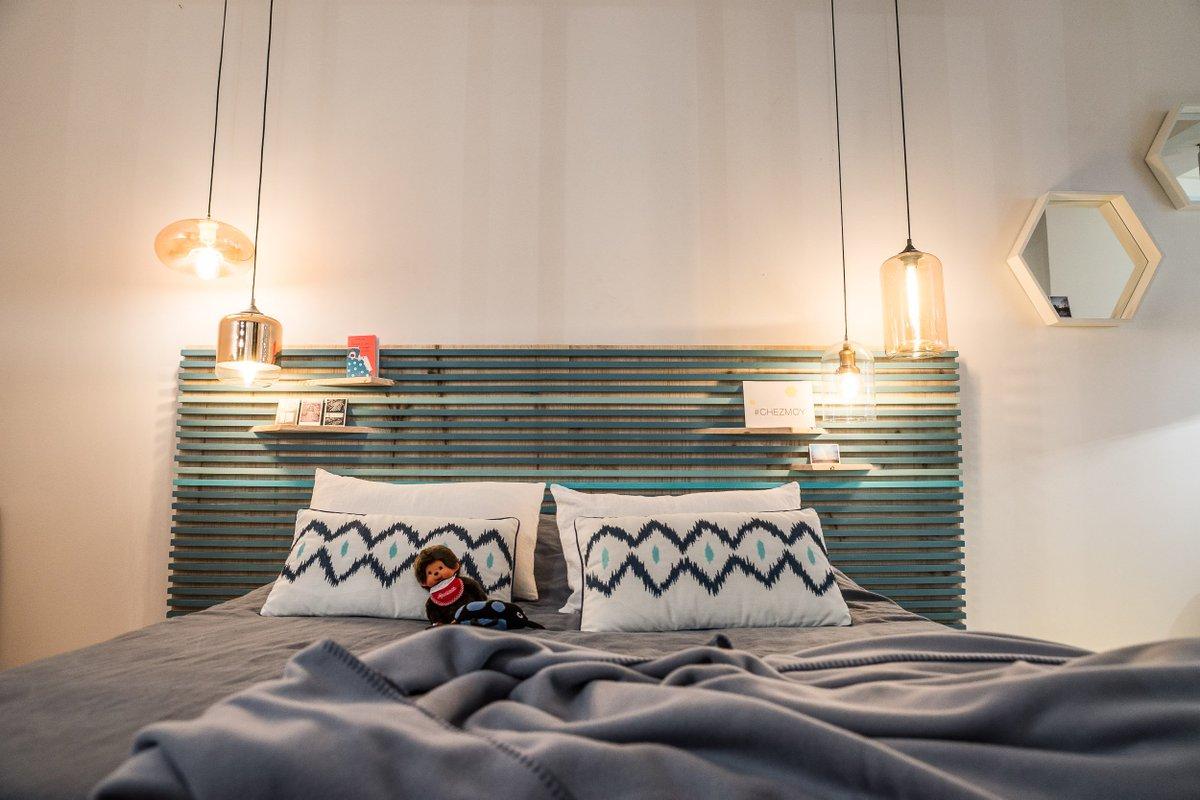 leroy merlin on twitter chezmoy j 39 ai fait moi m me ma t te de lit quelques planches des. Black Bedroom Furniture Sets. Home Design Ideas