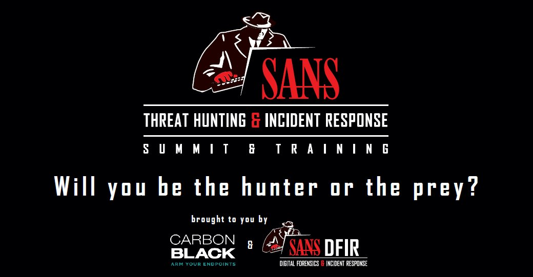 SANS Threat Hunting Incident Response Summit 2016   Another security