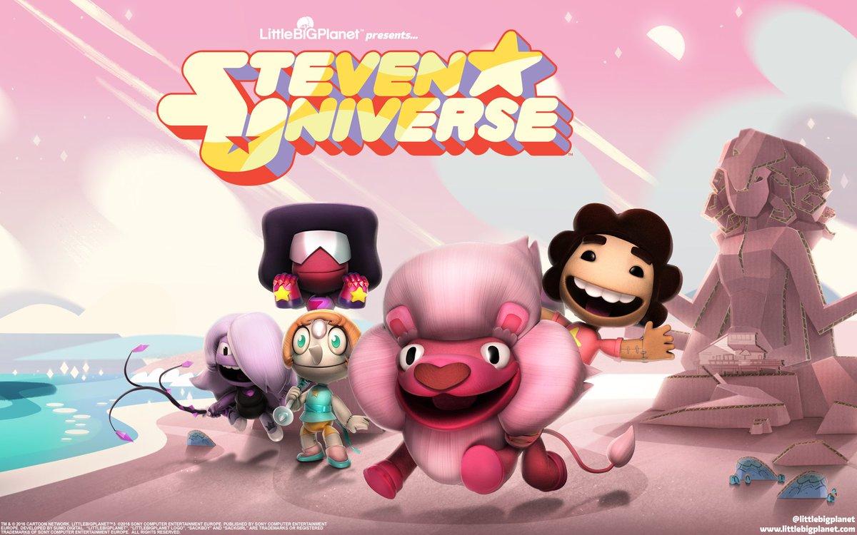littlebigplanet on twitter sackboy meets steven universe in our