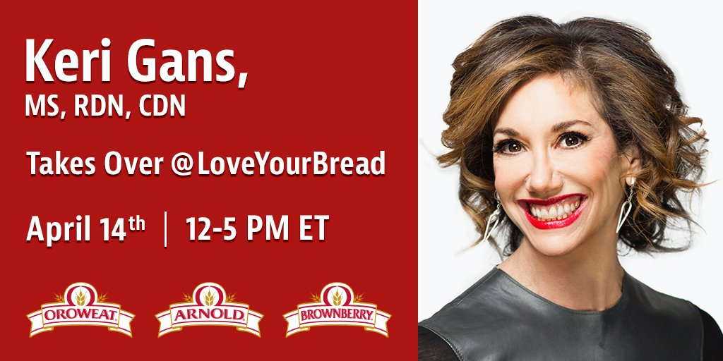 Follow @LoveYourBread for tips to getting back on track with 2016 resolutions as I take over their account on 4/14!! https://t.co/KpmyI061C8