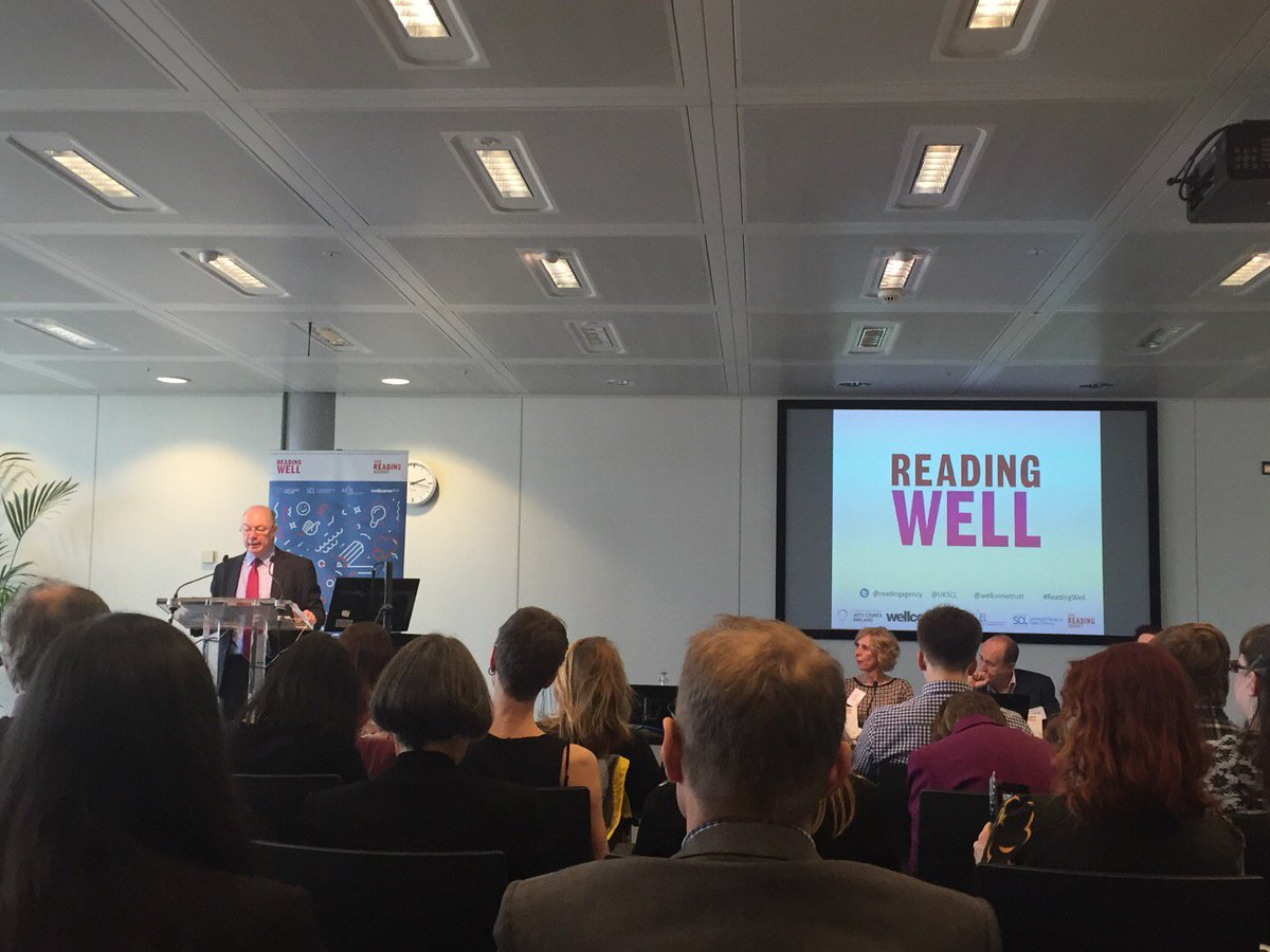 #ReadingWell Books available in 90% of English libraries and cover wide range of common MH issues https://t.co/7QC1xXPV1k