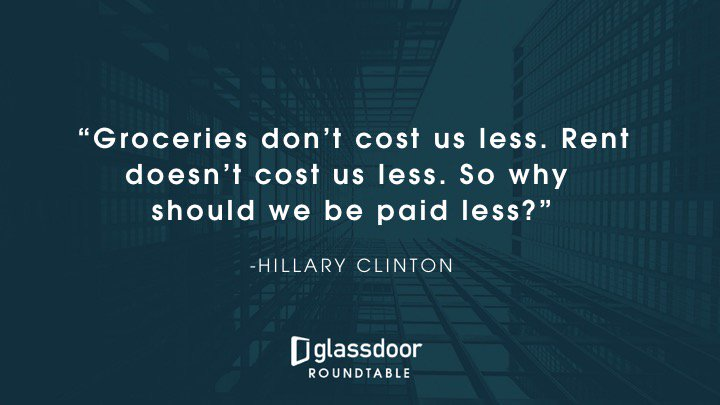 .@HillaryClinton speaking on equal pay for equal work #ShareYourPay https://t.co/ykATzf3dgc https://t.co/HS6Q4nyTIJ