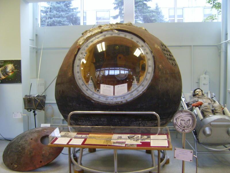 La navicella spaziale Vostok 3KA-3
