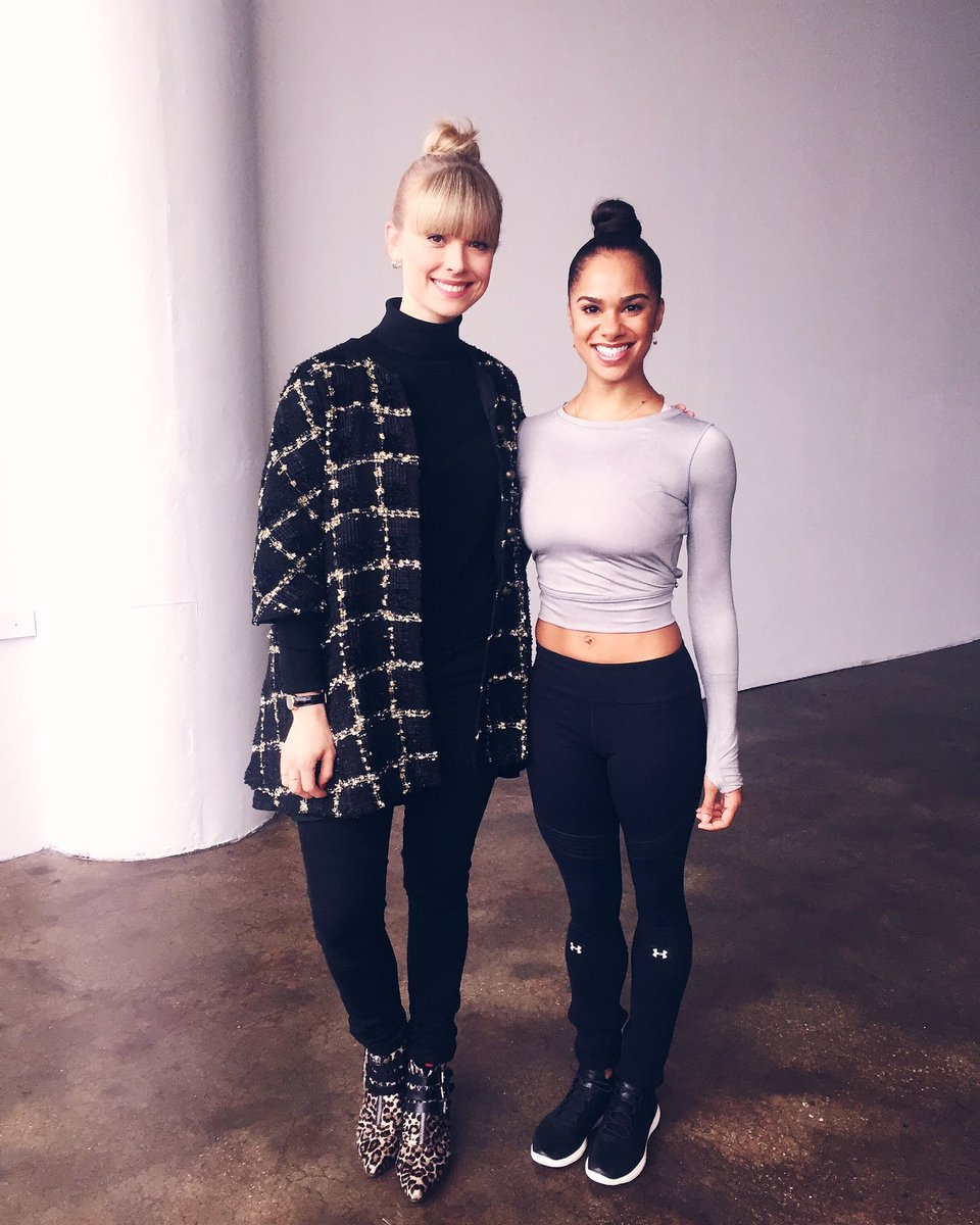 She danced to @Drake on-set today. My kind of ballerina (and fellow bunhead) @mistyonpointe