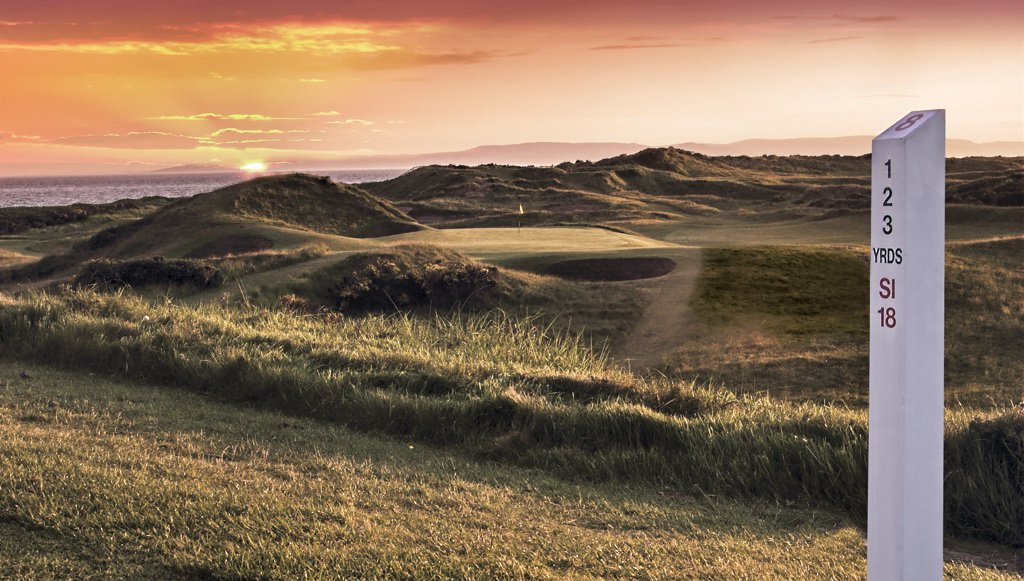 Royal Troon Golf On Twitter Hole 8 Postage Stamp Old Course Our Famous Par 3 And The Shortest TheOpen Rota At 123 Yards