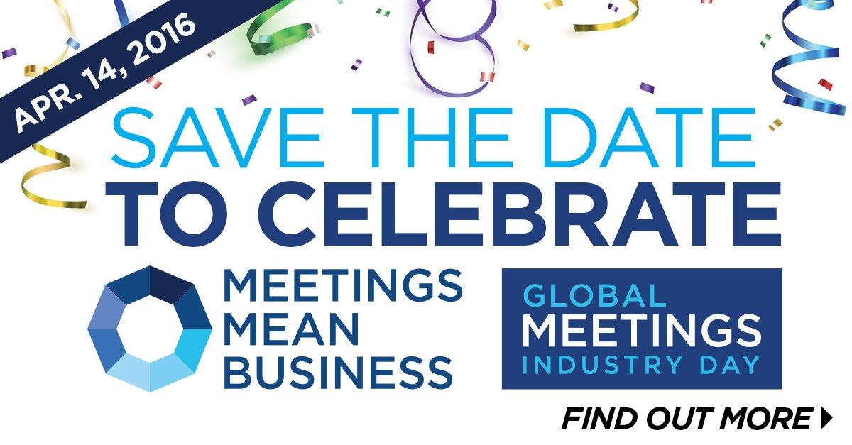 Two days until #GMID16! #eventprofs, let's show the WORLD the impact of our industry! https://t.co/GlJkImt3mR https://t.co/W5sDjrvD48